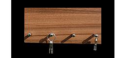 Věšáky na klíče bez skla