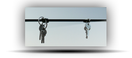 Věšáky na klíče design + sklo