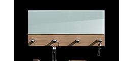 Věšáky na klíče  s plným sklem