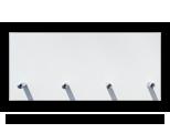 Bílý věšák na klíče /Key hanger/ Schlusselbretter/