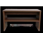 Botník sedací široký ořech