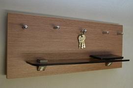 """Luxusní věšák na klíče """"Antonie """""""