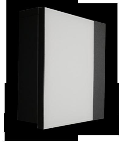 """Skříňka na klíče """"šedá metal+ bílé sklo"""" pné dvířka ..."""