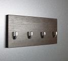 Venge věšák na klíče + háček  /Key hanger/ Schlusselbretter/
