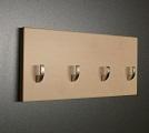 Javor věšák na klíče + háček /Key hanger/ Schlusselbretter/